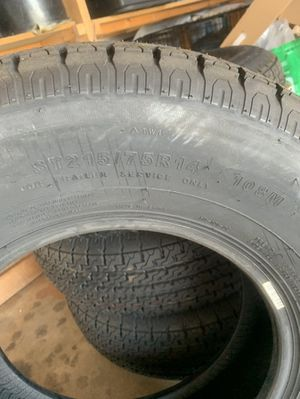 Brand new never used! D rated trailer towing tires! $300 OBO for Sale in Fullerton, CA