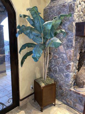 Palm tree plant decor (artificial) for Sale in Phoenix, AZ