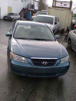 We Are Parting Out A 2006 Hyundai Sonata for Sale in Kent,  WA