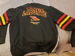 Terry Labonte twill jacket vintage XL for Sale in Beaumont, CA