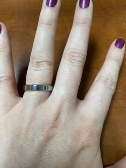 Tungsten 4mm wedding ring, size 7.5 for Sale in Brighton,  CO