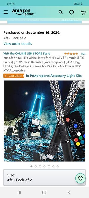 Led whips for Sale in Lake Elsinore, CA