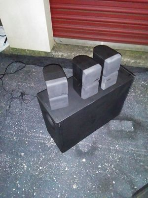 Bose acoustibass 7 surround sound speaker system for Sale in Lexington, KY