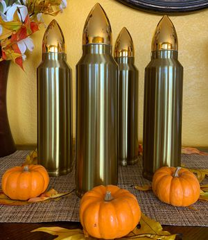 Realistic Bullet Shaped Coffee Thermos- 2 kinds for Sale in San Diego, CA
