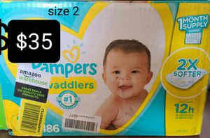 Pampers Diapers for Sale in Las Vegas, NV