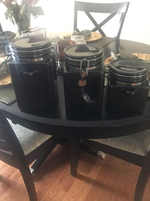 3 Used Ceramic Canisters for Sale in Germantown, MD