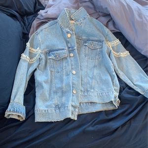 Sandro jacket With pearls Size 2 for Sale in New York, NY