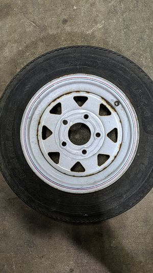 Carlisle 12-in trailer tire and wheel for Sale in Tampa, FL