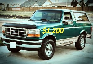 🍁$1200_1996 Ford Bronco.🍁 for Sale in Washington, DC