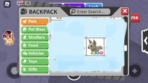 Neon fly ride fennec fox(from video game roblox adopt me) for Sale in Chula Vista, CA