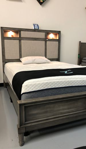 New Gray Light Up Bed Frame for Sale in Pacheco, CA