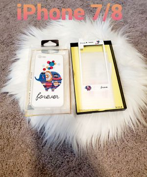iPhone 7/8 Phone Case & Screen Protector Set for Sale in Hanford, CA