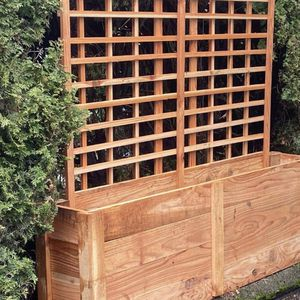 Untreated cedar garden planters for Sale in Everett, WA