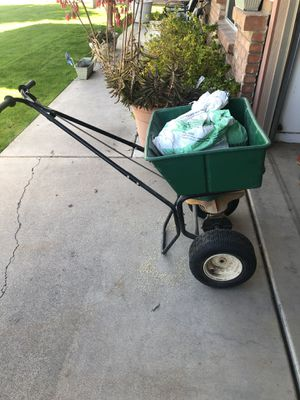 Seed spreader, weed eaters gas and electric, gas leaf blower for Sale in Gilbert, AZ