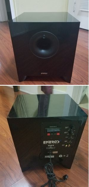Energy 200w powered subwoofer speaker for Sale in Long Beach, CA