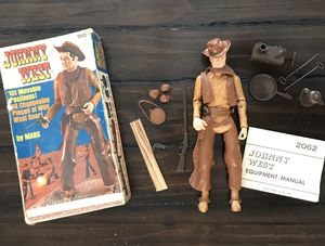 Vintage Johnny West Toy Figures by Marx for Sale in Fontana, CA