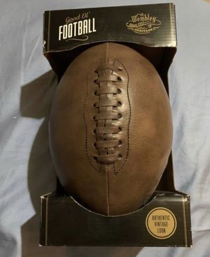 Vintage look football for Sale in Lincoln, NE