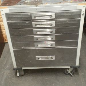 """6-DRAWER ROLLING LOCKABLE STORAGE CABINET, 28"""" W X 18"""" D X 34.5"""" H, for Sale in Long Beach, CA"""