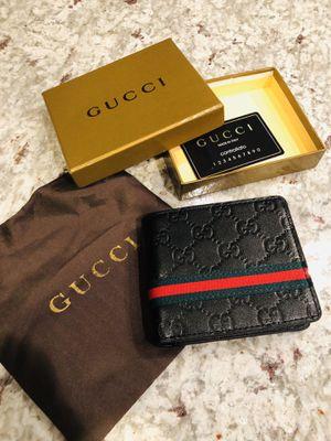 Gucci - Guccissima Web Bifold Wallet Brand New Gucci Wallet for Sale in Chicago, IL