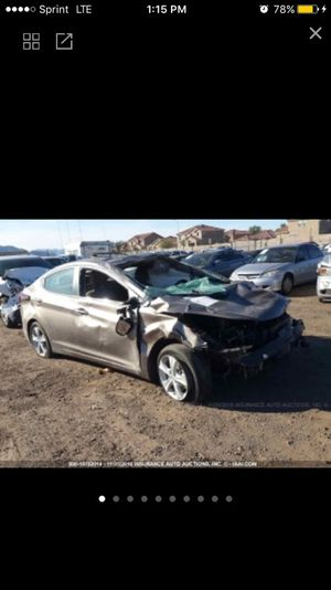 2016 Hyundai Elantra SE Sport Limited FoR Parts only for Sale in Laveen Village, AZ