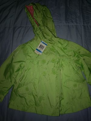 Lime green rain coat size 24 months for Sale in Renton, WA