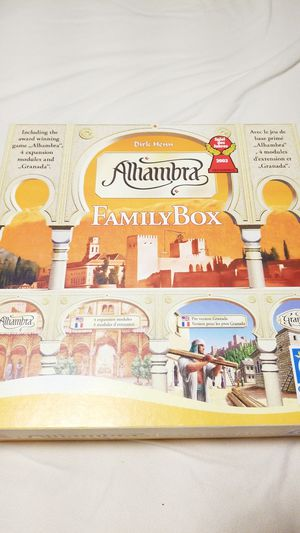Alhambra Famil Box Board Game great condition for Sale in Mesa, AZ