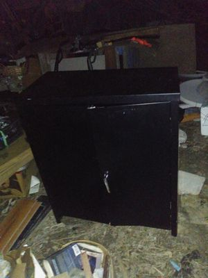 Counter height storage cabinet for Sale in Dallas, TX