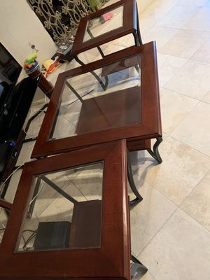 Coffee table and 2 side tables. for Sale in Scottsdale, AZ