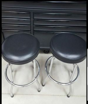 "2 bar stools 28"" tall $98.00 for both. OBO. for Sale in Menifee, CA"