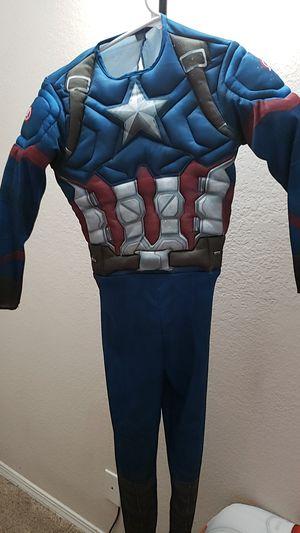 Kids Captain America costume size M for Sale in Nashville, TN