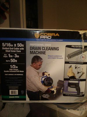Cobra Pro Drain Cleaning Machine for Sale in Pueblo, CO