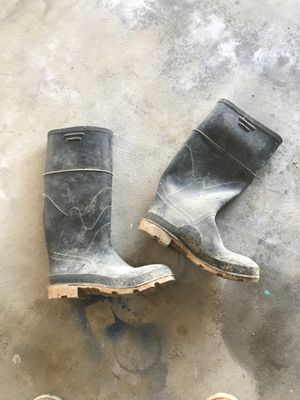 Rain/ Cement boots for Sale in Bakersfield, CA