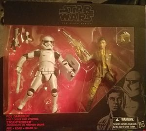 Star Wars Poe Dameron First Order Riot Control stormtrooper Action Figure For Sale for Sale in Vancouver, WA