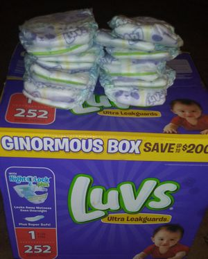 Diapers Size 1 for Sale in Pittsburgh, PA