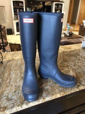 Women's Size 7 Hunter Rain Boots for Sale in Naperville, IL