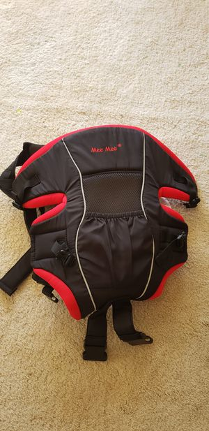 Mee Mee 4 in 1 Cozy Baby Carrier (Red) for Sale in Fremont, CA