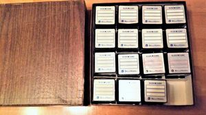 """Bell and Howell 2"""" by 2"""" slide cubes –15 in container box-- for Sale in Northfield, OH"""