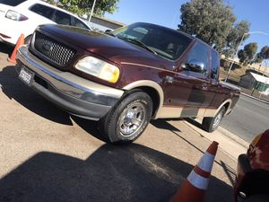 2000 Ford F150 Lariat 1 Owner for Sale in San Diego, CA