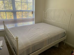 full size bed frame with mattress for Sale in Annandale, NJ