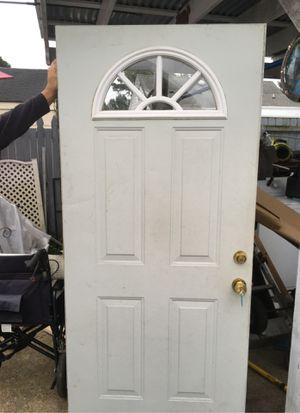 Steel entry steel door 36 inches wide with defiant Locs for Sale in Norfolk, VA