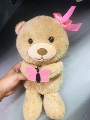 Girls baby bear stuffed animal for Sale in Boca Raton, FL