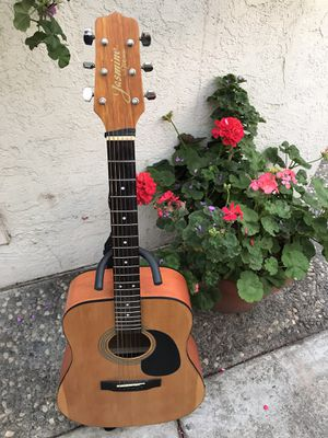 Jasmine By Takamine S35 Full Size Acoustic Guitar with Stand , Strap Included for Sale in Fremont, CA