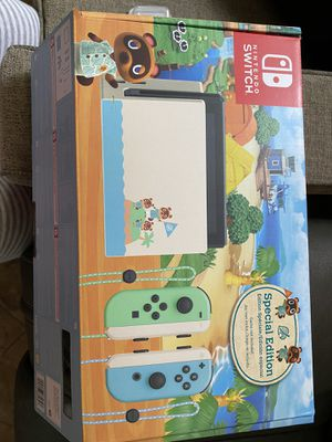 Nintendo Switch animal crossing + games for Sale in Westminster, CA