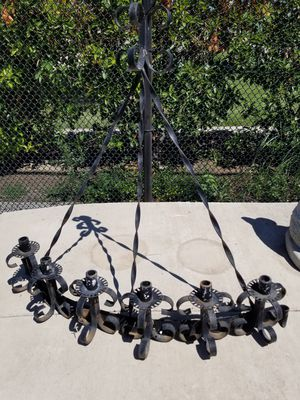 Very old rought iron candelabra for Sale in Tracy, CA