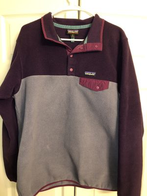 Purple Patagonia pullover for Sale in Aberdeen, NC