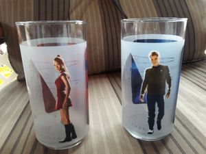 Star trek collectible glasses for Sale in Phoenix, AZ