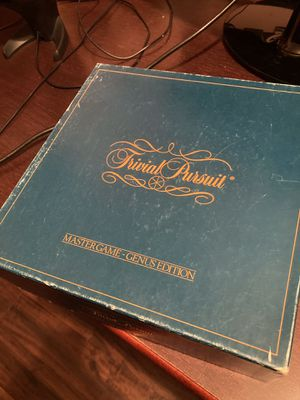 Board Game. Trivial Pursuit for Sale in Dallas, TX