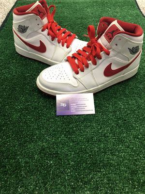 Jordan 1 White Gym Red for Sale in West Greenwich, RI