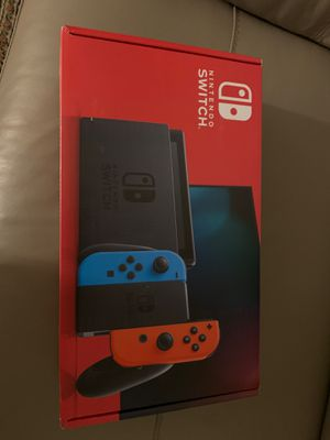 Brand New Nintendo Switch Console Neon Blue and Red for Sale in San Diego, CA