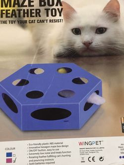 Cat Electric Toy with Random Rotating Worm Teaser and Catnip Ball for Sale in Redmond,  WA